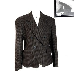 Christian Dior Double Breasted Button Blazer 8